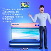 Miniatura - TV 55P PHILIPS LED SMART 4K WIFI USB HDMI