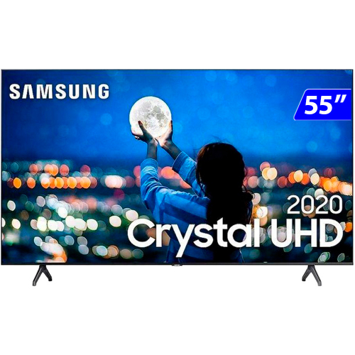 Foto - TV 55P SAMSUNG LED SMART 4K WIFI USB HDMI