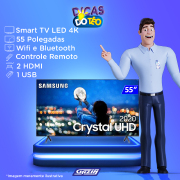 Miniatura - TV 55P SAMSUNG LED SMART 4K WIFI USB HDMI