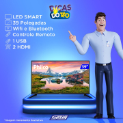 Miniatura - TV 39P PHILCO LED SMART HD WIFI HDMI