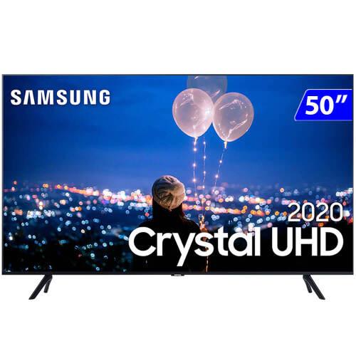 Foto - TV 50P SAMSUNG CRYSTAL SMART 4K COMANDO VOZ