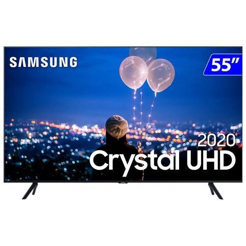 Foto - TV 55P SAMSUNG CRYSTAL SMART 4K COMANDO VOZ