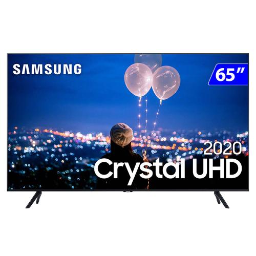 Foto - TV 65P SAMSUNG CRYSTAL SMART 4K COMANDO VOZ