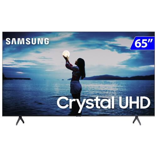 Foto - TV 65P SAMSUNG CRYSTAL SMART 4K WIFI