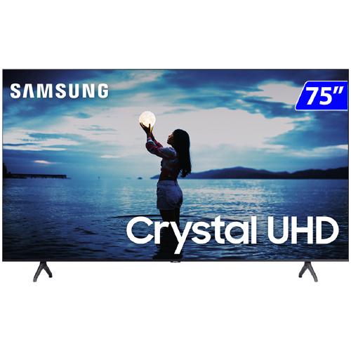 Foto - TV 75P SAMSUNG CRYSTAL SMART 4K WIFI