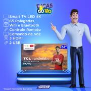 Miniatura - TV 65P TCL LED SMART 4K ANDROID COMANDO DE VOZ