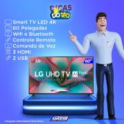 Miniatura - TV 60P LG LED SMART 4K WIFI COMANDO VOZ