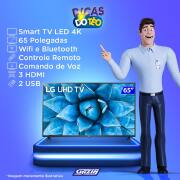 Miniatura - TV 65P LG LED SMART WIFI 4K COMANDO VOZ