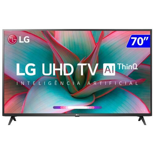 Foto - TV 70P LG LED 4K SMART WIFI COMANDO VOZ