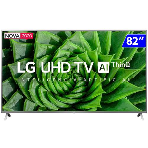 Foto - TV 82P LG LED SMART 4K WIFI COMANDO DE VOZ