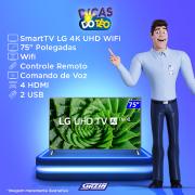 Miniatura - TV 75P LG LED SMART 4K WIFI COMANDO DE VOZ