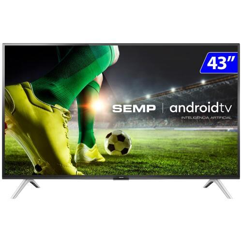 Foto - TV 43P TCL LED SMART FULL HD COMANDO VOZ (MH)
