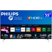 Foto de TV 55P PHILIPS LED SMART 4K WIFI USB HDMI