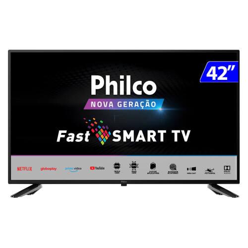 Foto - TV 42P PHILCO LED SMART WIFI HD USB HDMI