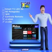 Miniatura - TV 50P PHILCO LED SMART 4K WIFI HD USB HDMI