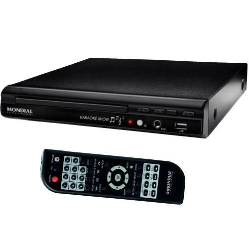 Foto - DVD MONDIAL USB MP3 KARAOKE