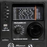 Miniatura - RADIO MOTOBRAS 8 FAIXAS USB FM/OC