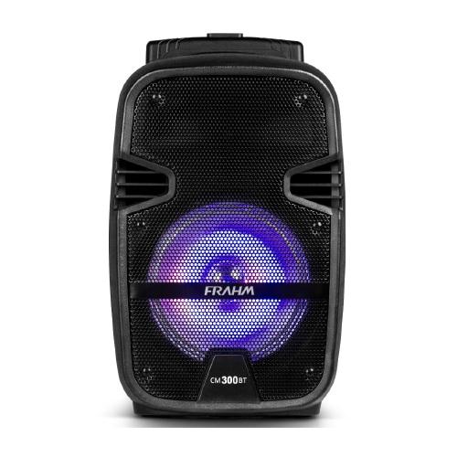 Foto - caixa de som frahm 300w bateria int bluetooth