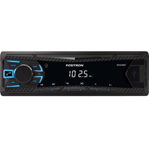 Foto - AUTO RADIO POSITRON BLUETOOTH SD/MP3/USB