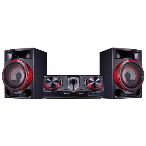 Foto - MINI SYSTEM LG 1800W BLUETOOTH CD USB