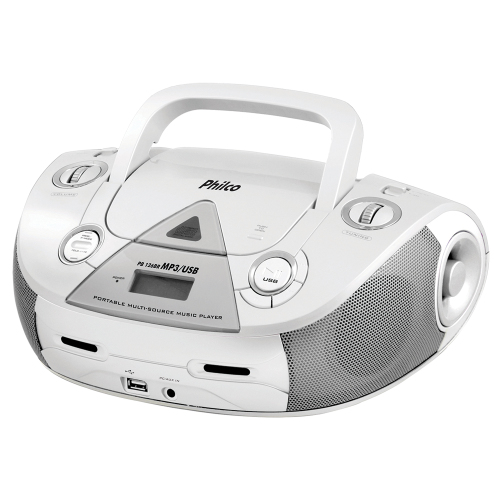 Foto - RADIO PHILCO 4W RMS CD FM MP3 USB