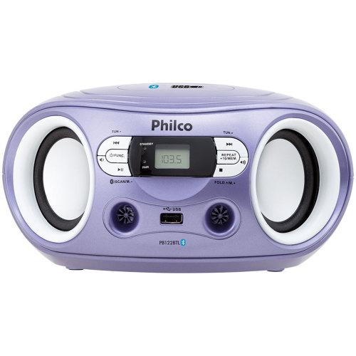 Foto - RADIO PHILCO 6WTS BLUETOOTH USB FM MP3