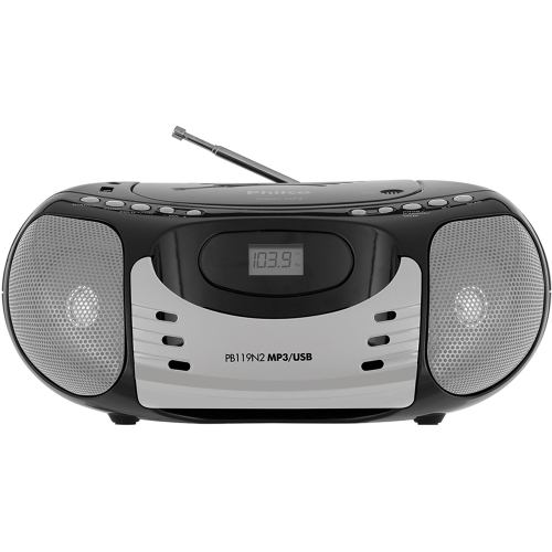 Foto - RADIO PHILCO 5W RMS CD FM MP3 USB