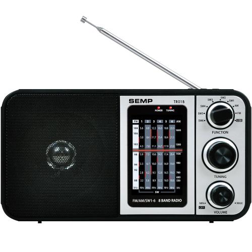 Foto - RADIO PORTATIL TOSHIBA  8 FAIXAS USB