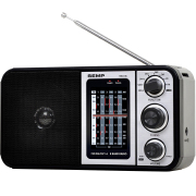 Miniatura - RADIO PORTATIL TOSHIBA  8 FAIXAS USB
