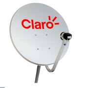Foto de ANTENA MINI PARABOLICA 60CM CLARO TV