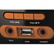 Miniatura - radio mondial 8w rms fm usb mp3