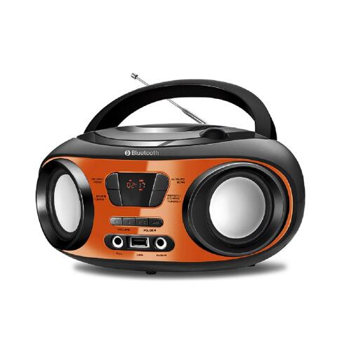 Foto - RADIO MONDIAL 8W RMS BLUETOOTH CD USB DISPLEY DIGI