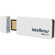 Foto de ADAPTADOR USB WIRELESS INTELBRAS WBN300 N 300MBPS