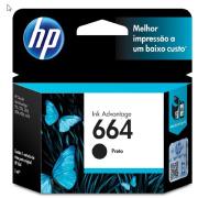 Foto de CARTUCHO DE TINTA HP 664 PRETO