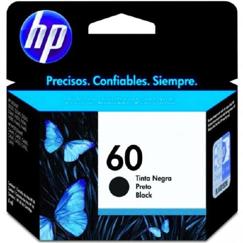 Foto - CARTUCHO DE TINTA HP  Nº 60 PRETO
