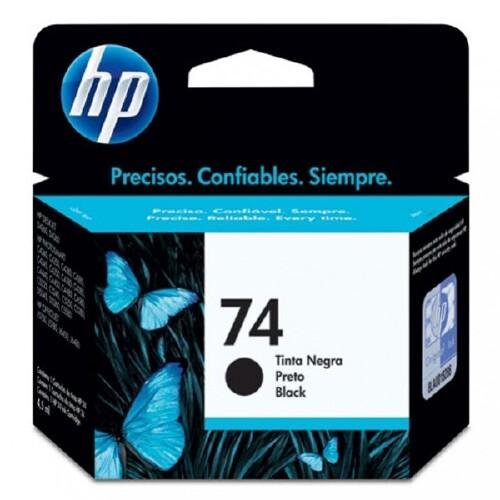 Foto - CARTUCHO DE TINTA HP  Nº 74 PRETO