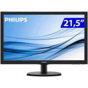 Miniatura - MONITOR PHILIPS LED 21,5 223V5LHSB2 WIDE HDMI