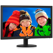 Miniatura - MONITOR LED PHILIPS 243V5QHAB 23.6P HDMI SPEAKER
