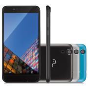 Foto de CELULAR MULTILASER MS55 2CHIP 5.5P 3G 24GB QUAD