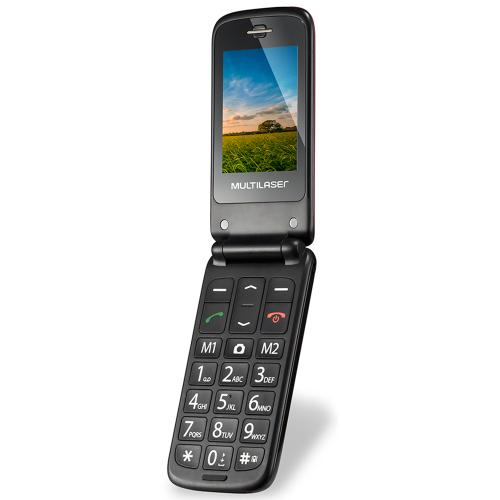 Foto - Celular Multilaser P-9021 Vita Flip Dual