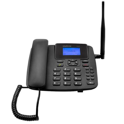 Foto - Celular Rural Intelbras CF-4201 Radio FM Single S/
