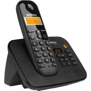 Miniatura - Tel Intelbras TS-3130 S/Fio C/Secretaria Pto