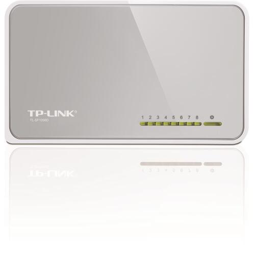 Foto - SWITCH TPLINK SF1008D 8 PORTAS 10/100MBPS