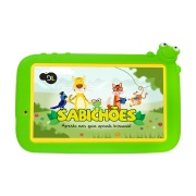 Foto de TABLET DL SABICHOES 7P 8GB WIFI QC 1CAM CAPA VERDE