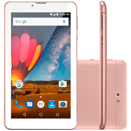 Foto - TABLET MULTILASER M7 3G PLUS 7P 8GB WIFI QUAD 2CAM