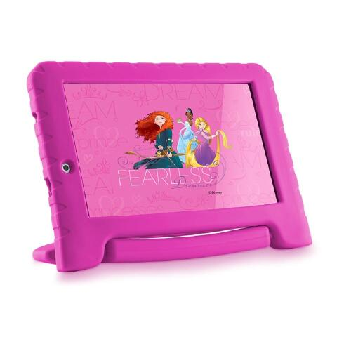 Foto - TABLET MULTILASER PRINCESAS PLUS 7P QUAD 8GB 2C