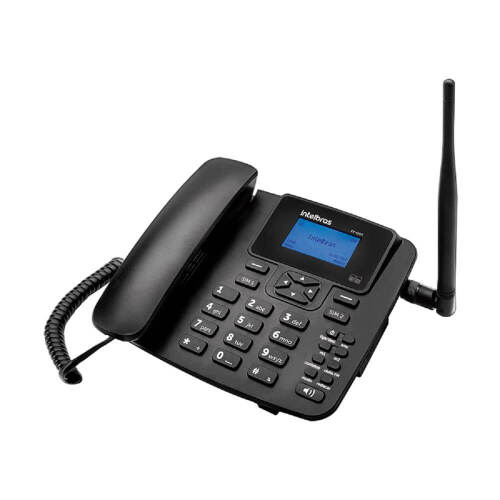 Foto - Celular Rural Intelbras GSM CF-4202 Dual S/Kit