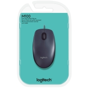 Foto de MOUSE LOGITECH M100 USB COM FIO