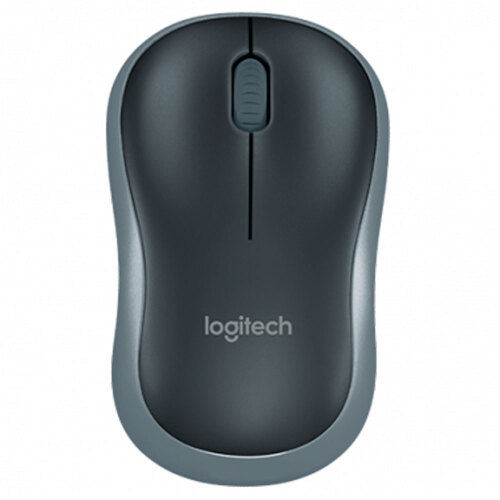Foto - MOUSE LOGITECH M185 WIRELESS ERGONOMICO