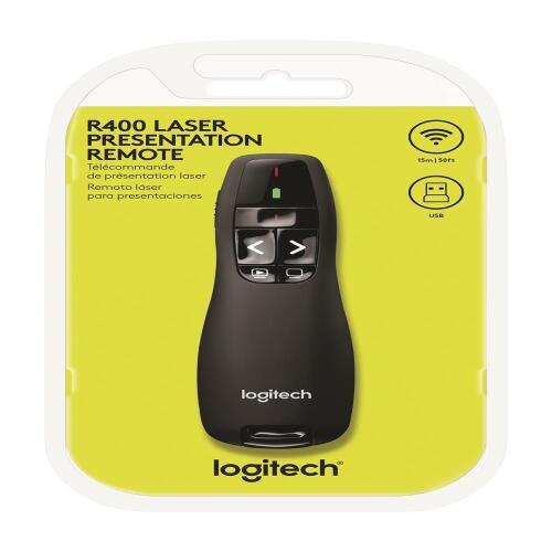 Foto - APRESENTADOR LOGITECH PRESENTER R400 WIRELESS